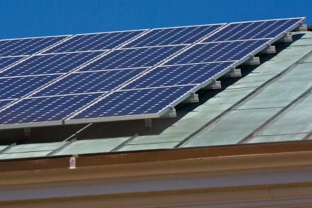 Homewood's Solar Panels (close-up)